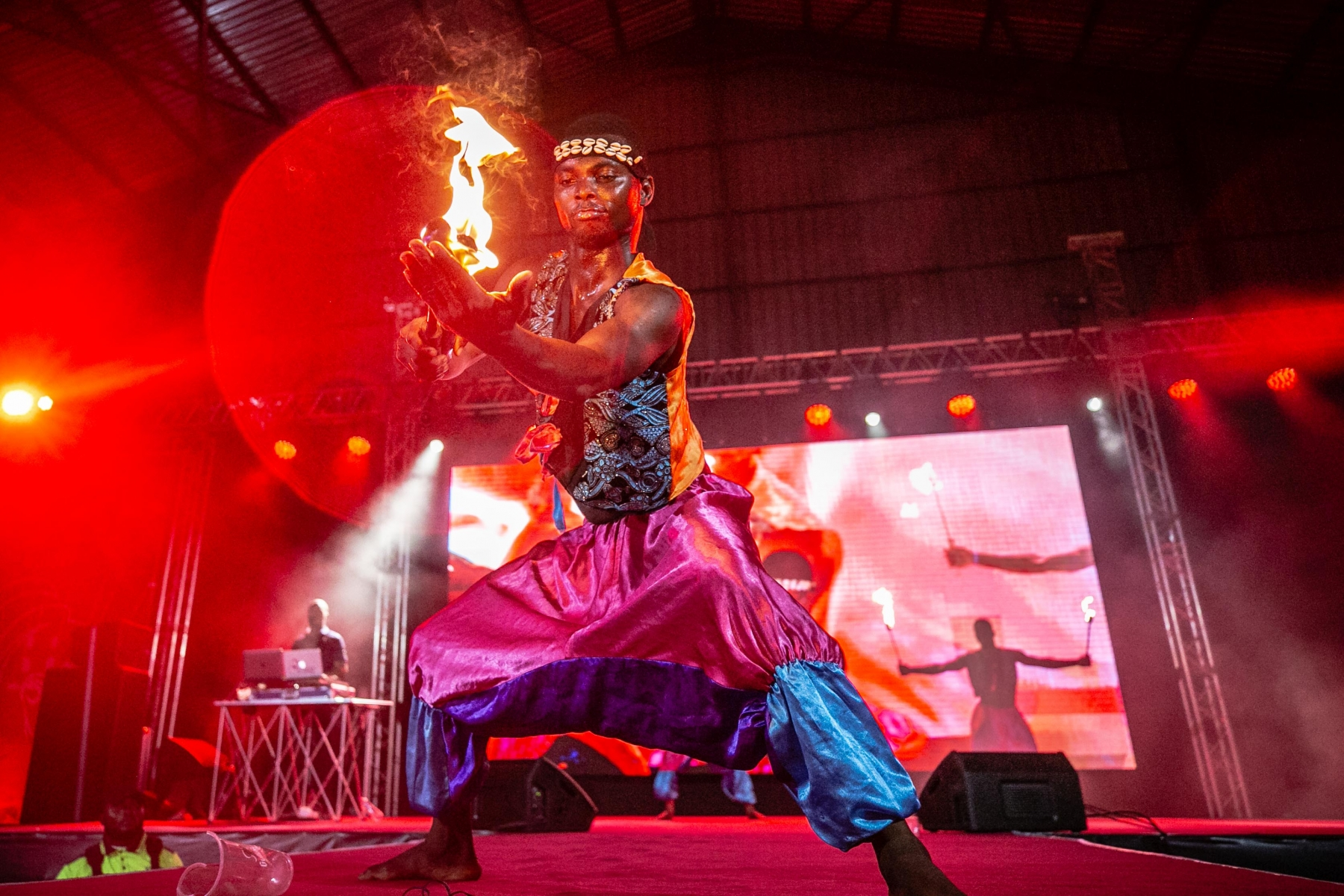 Fire eaters-Gulder Red Night Party