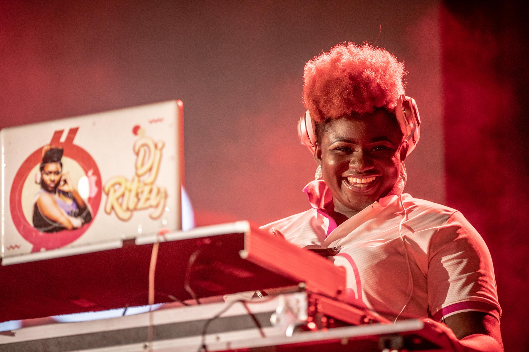 DJ Ritzy- Gulder Red Night Party